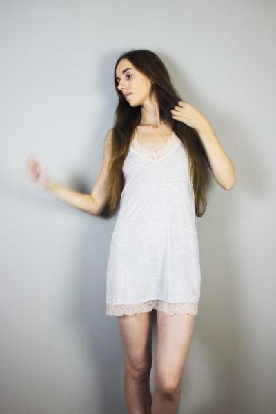 Обзор комбинации-сорочки Women's Secret в журнале о нижнем белье и стиле GB {Garterblog.ru}