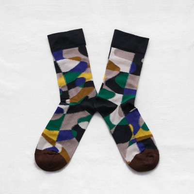 Графичные носки Bonne Maison Multicolored Puzzle socks 13,30 €