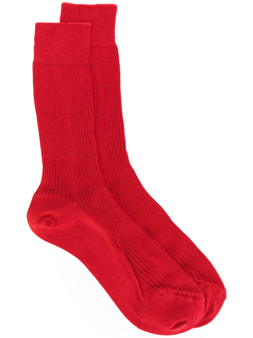 Мода на носки в рубчик. Nº21 ribbed socks, 5277₽