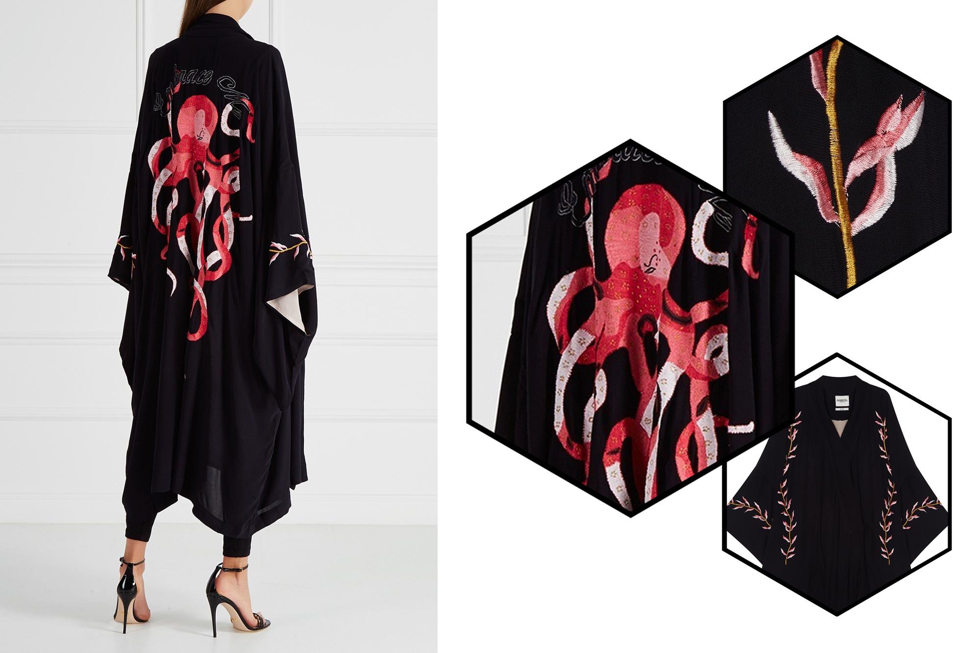 [Вещь недели] Халат-кимоно Octopussy от Essentiel