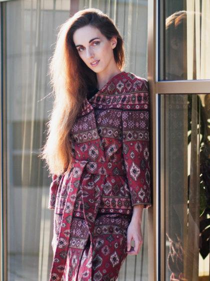 Халат-кимоно в ориентальном стиле. Фотообзор в журнале о нижнем белье и стиле GB {Garterblog.ru} / Фотограф – Анна Панова