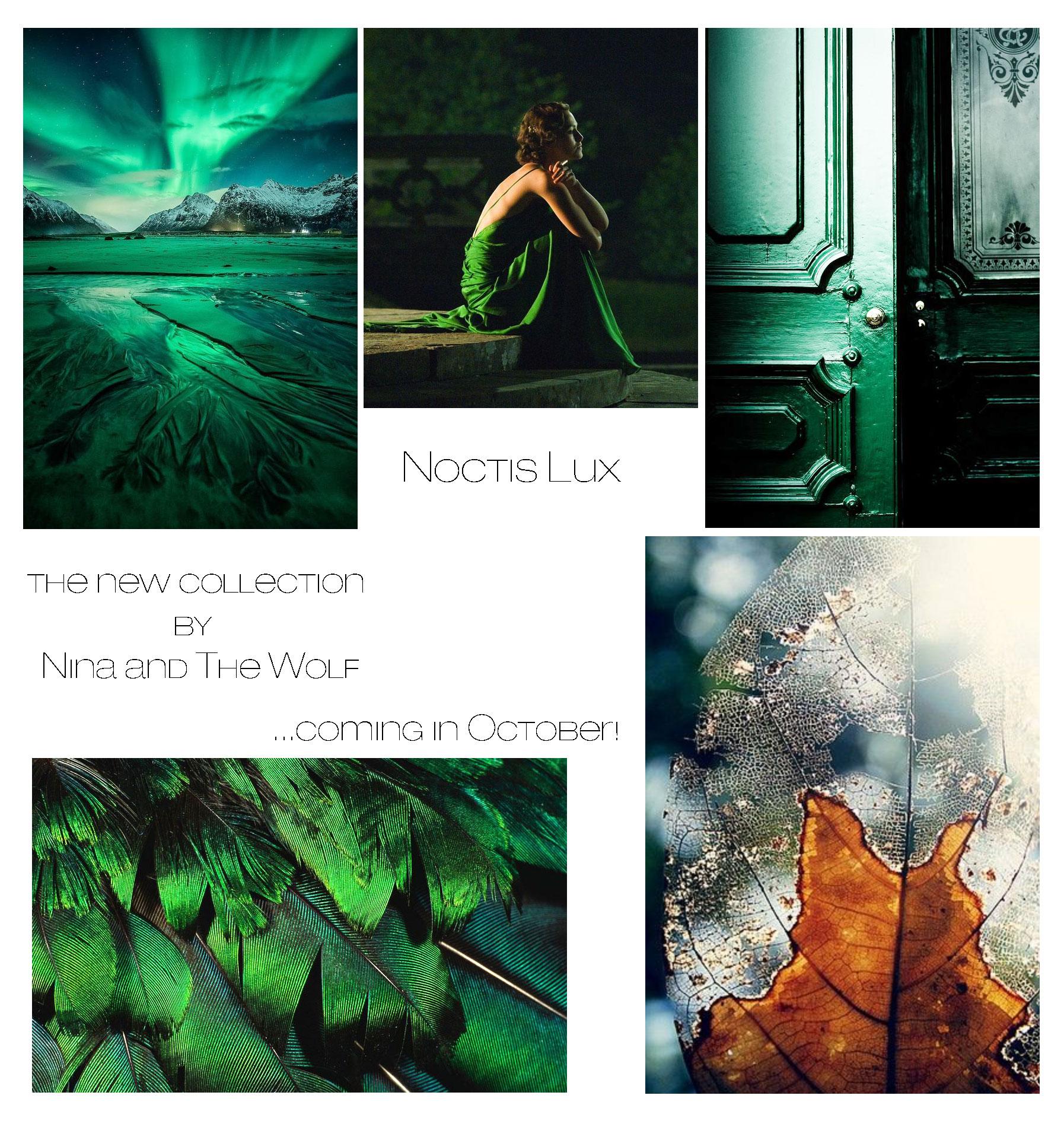 Nina & The Wolf: Дизайнеры рассказывают о новой коллекции Noctis Lux