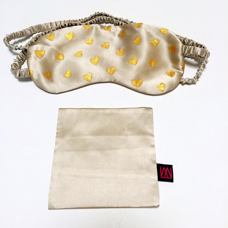 """Маска для сна из шёлка-""""Charmeuse"""" от msdesignsshop, $32.99"""