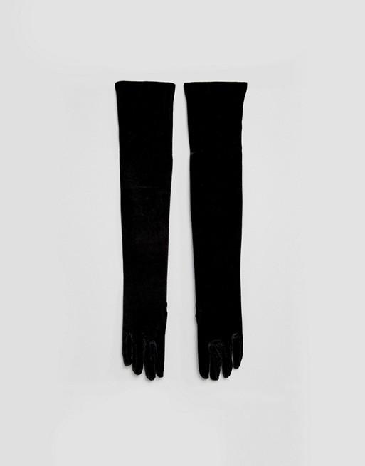 Подарки. Бархатные перчатки Leg Avenue