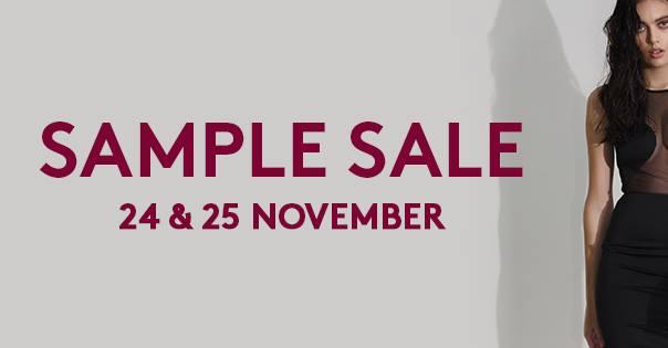 24 и 25 ноября 2017 состоится распродажа сэмплов со скидками до 80% у Murmur
