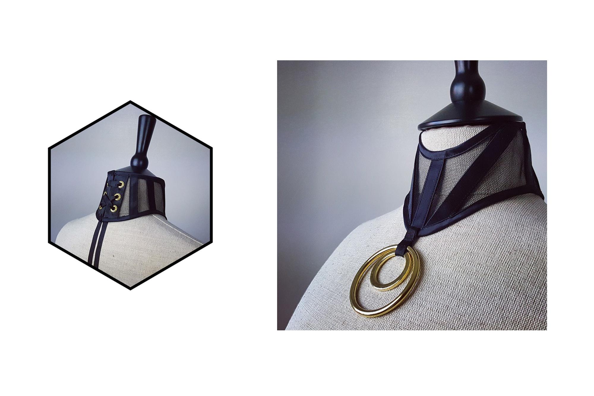[Вещь недели] Чокер-корсет Orchid Corsetry Isolde