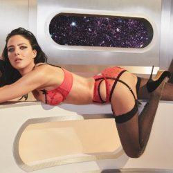 Agent Provocateur: Галактический лукбук нижнего белья к Новому году 2017-2018