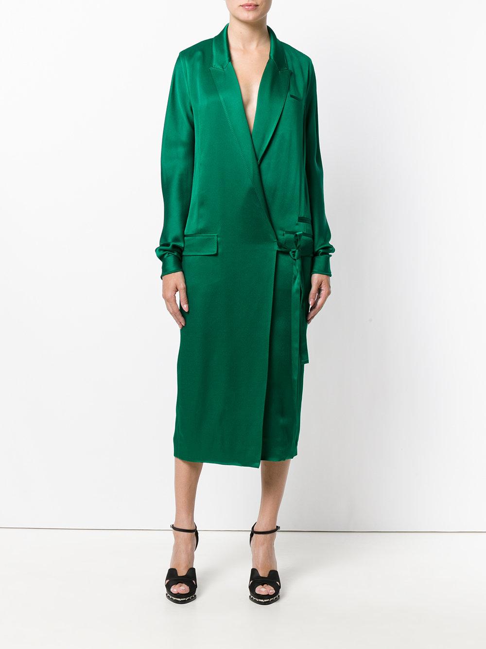 HAIDER ACKERMANN платье с запахом на одну сторону 72 995 ₽ | 30% скидка 51 097 ₽