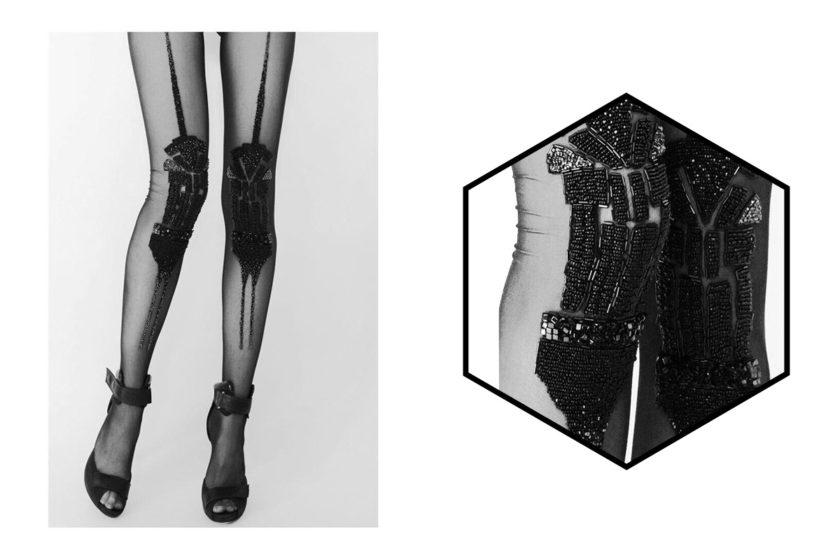 [Вещь недели] Колготки с вышивкой Yulia Chulkova