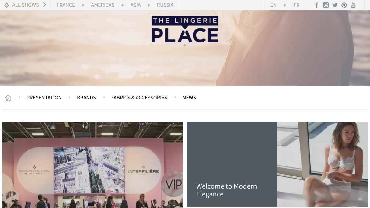Eurovet запустил b2b онлайн-платформу The Lingerie Place для специалистов из области нижнего белья, купальников и спортивной одежды