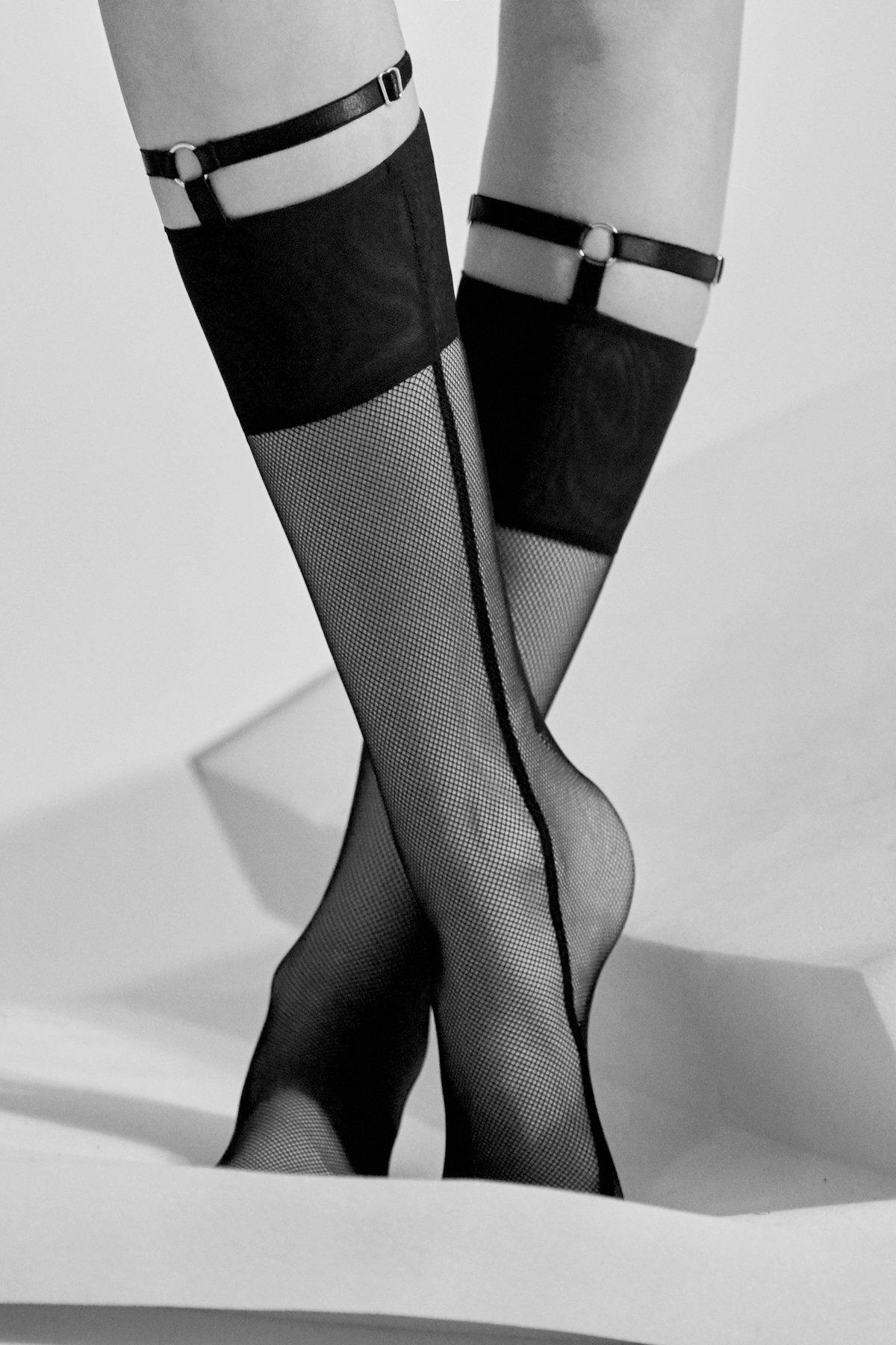 Носки с гартерами Kim от Marika Vera