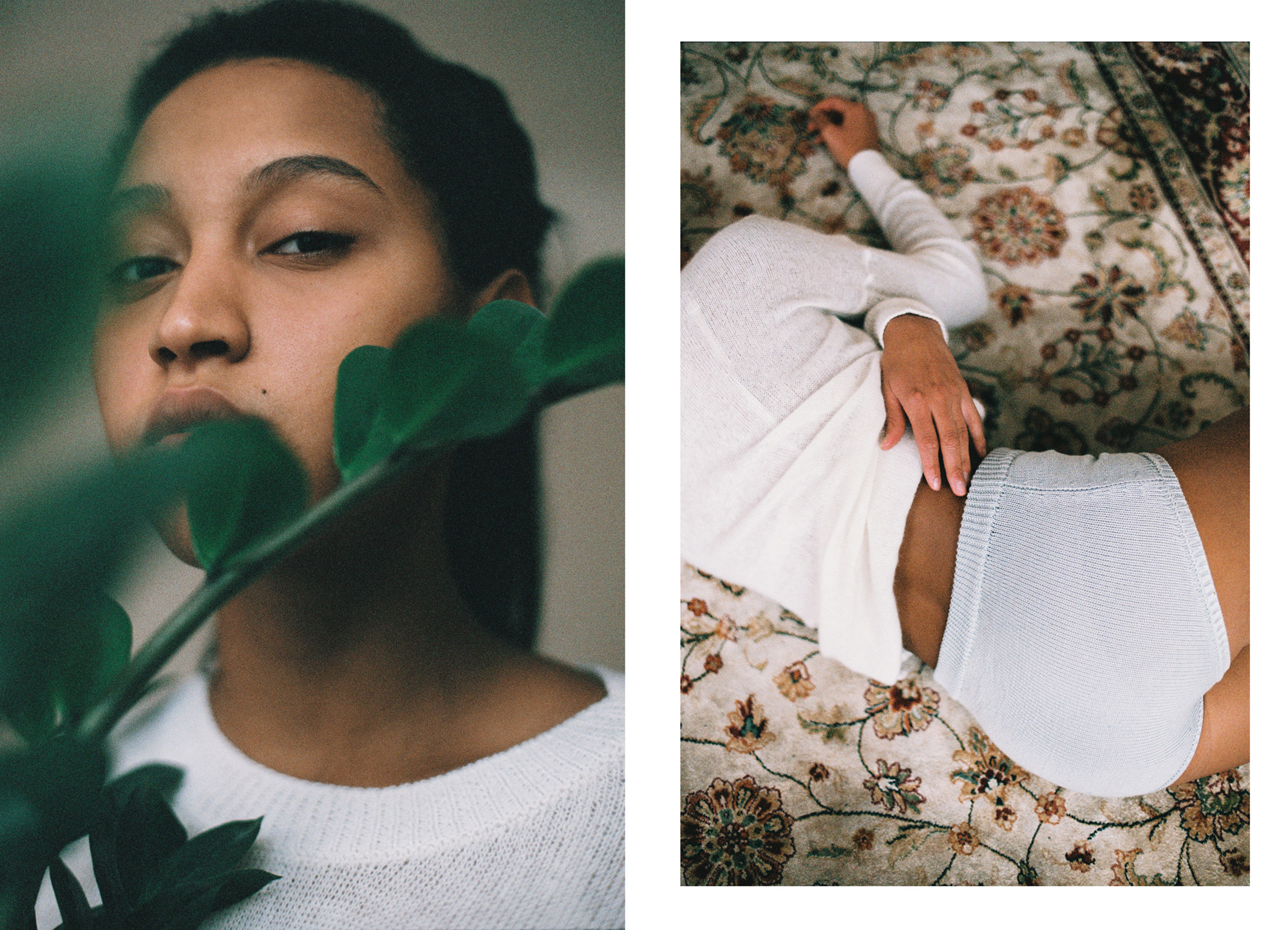 Марка вязаного белья Bureau de Tricoti и фотограф Екатерина Мусаткина отсняли лукбук с клиентками и друзьями бренда