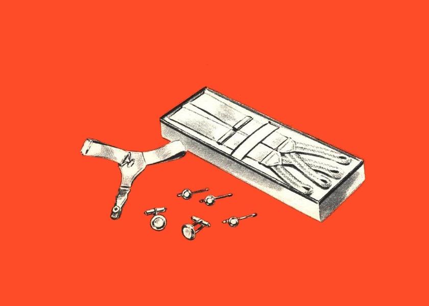"""""""No metal can touch you"""": Короткая и стильная жизнь подтяжек для носков"""