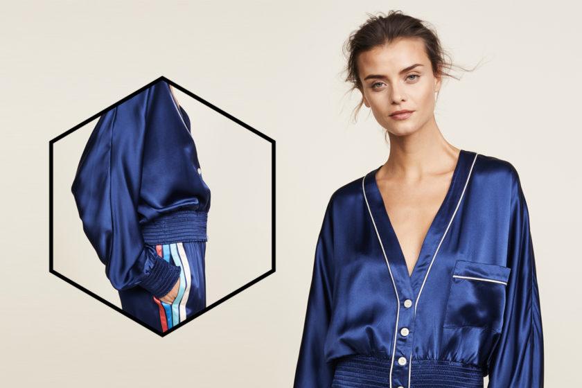 [Вещь недели] Шёлковая пижамная куртка Morgan Lane