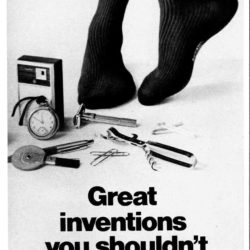 Esquire, October 1, 1969. Socks adv