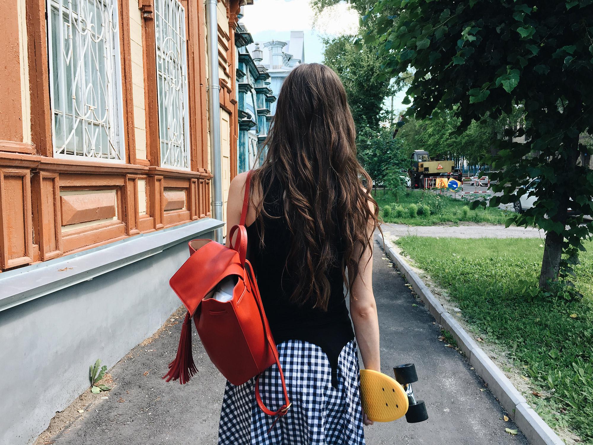 Lingerie as outerwear. Kriss Soonik suspender top. Indie photographer: Irina Amosova. Hairstyle: Nadezhda Valiulina