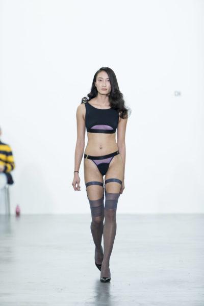 Показ нижнего белья LYN lingerie на цюрихской неделе моды ModeSuisse Edition13. Фото: Alexander Palacios
