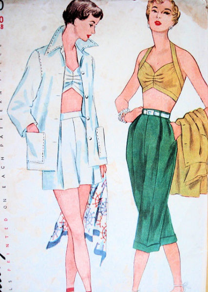 1950s Beach Wear Pattern sovintagepatterns.com