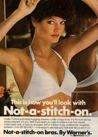 Реклама холтер-бра Warners середины 70х. Фото: popculturejdraper.blogspot.com