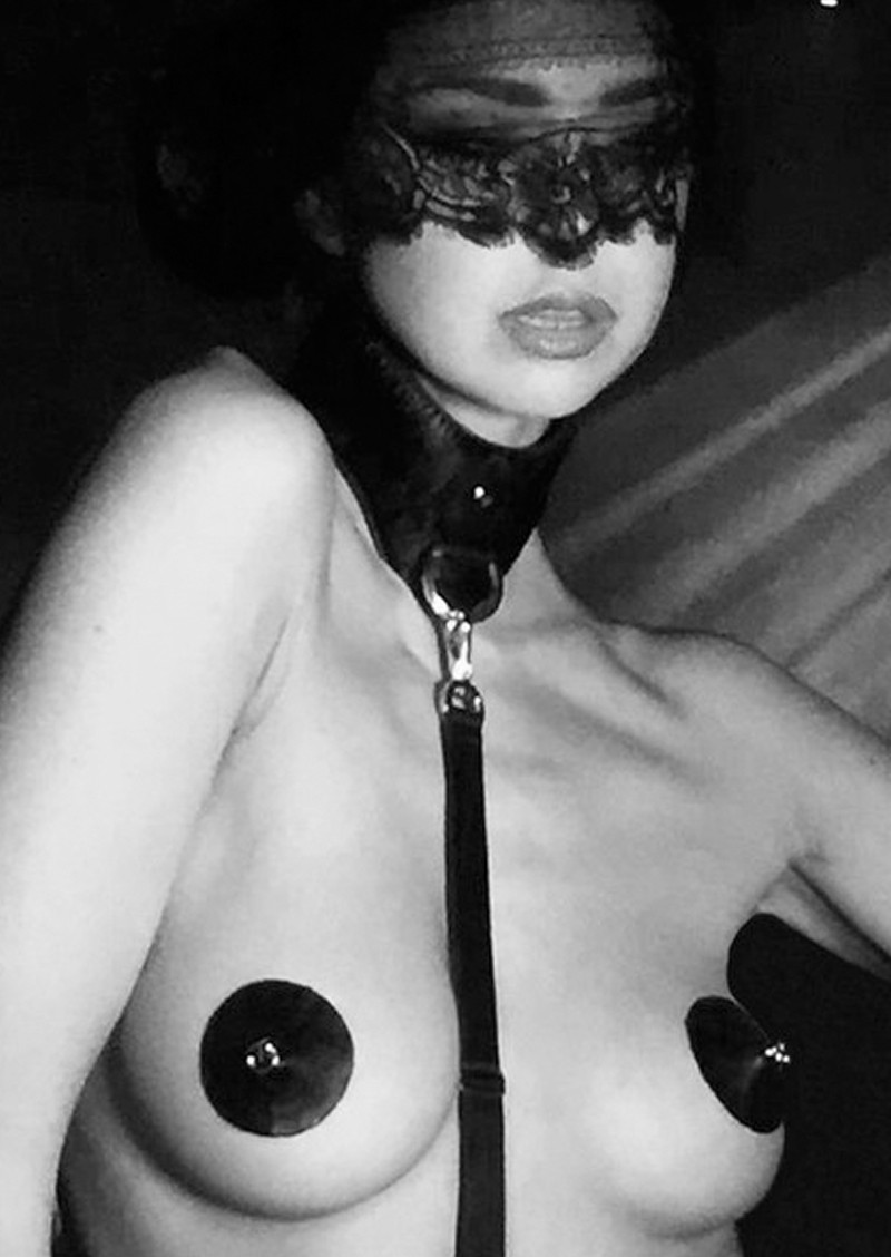 Pleasurements The Model Traitor Ringed Nipple Pasties leather