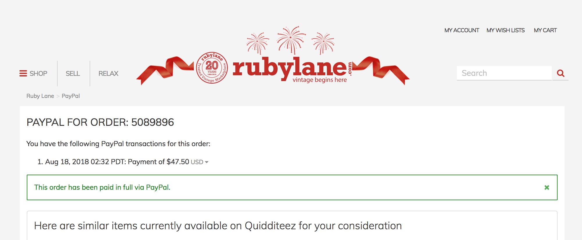 Как я заказывала винтажный шелковый будуарный жакет на онлайн-барахолке Ruby Lane