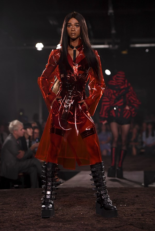 Bordelle X Gareth Pugh, SS19 Photo: Getty