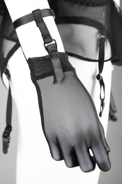Перчатки с держателями для чулок Agashi