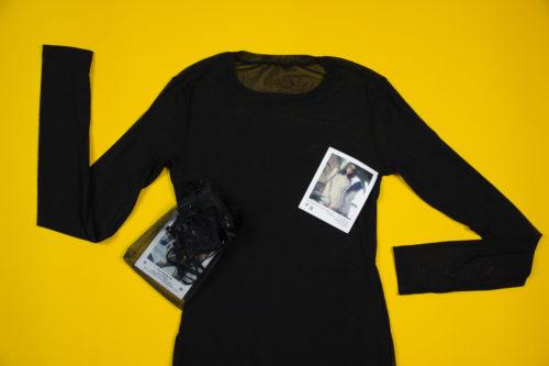 Обзор будуарного платья их сеточки Mymokondo