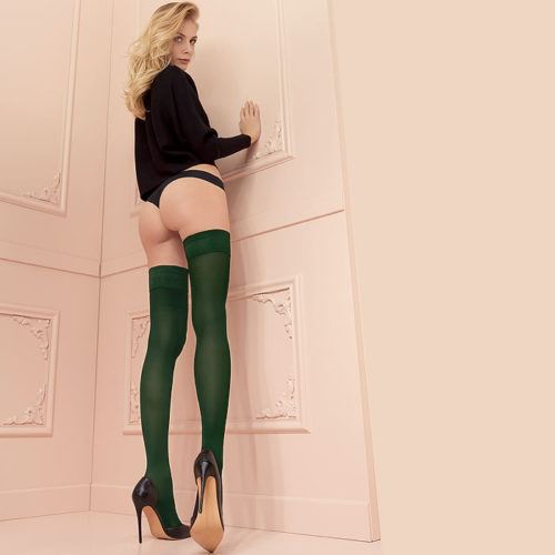 stockingirl Heather_Green_Color