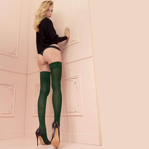 stockingirl Heather_Green_Color
