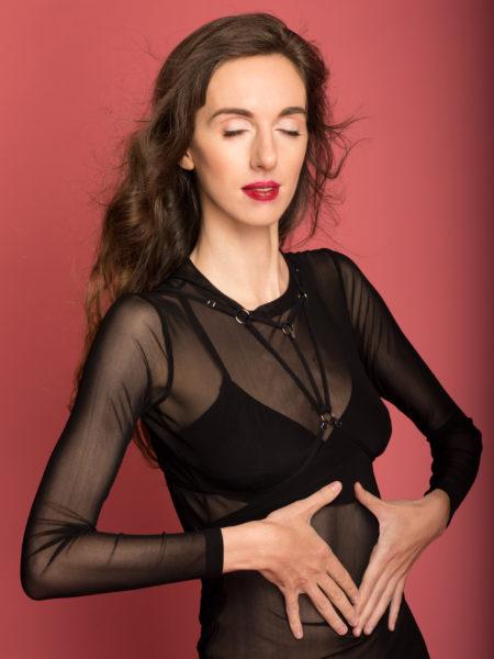 Обзор базового сетчатого платья и стрэпа MyMokondo. Фото: Garterblog.ru