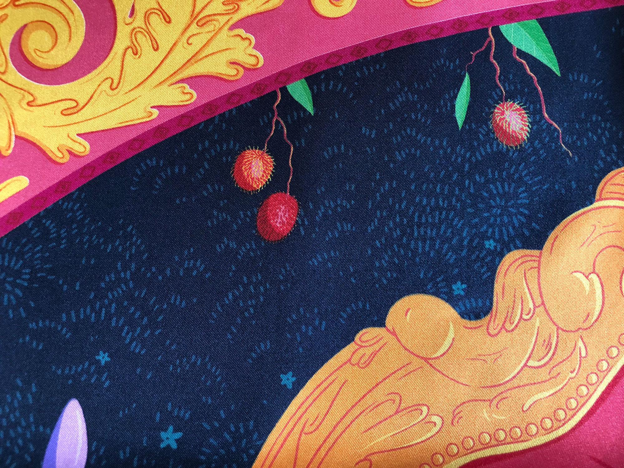 Обзор шелкового платка Logandria на Garterblog.ru / Все права на текст и фото защищены