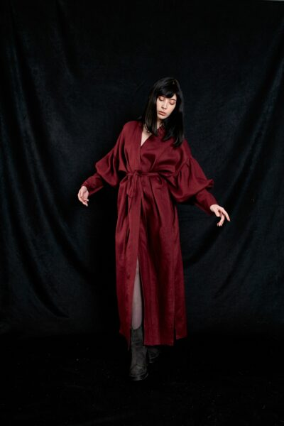 Обзор льняного платья/халата/накидки Charmion от Southern Cold