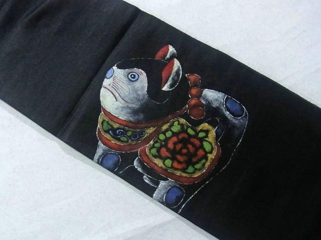 Винтажный пояс оби из Японии