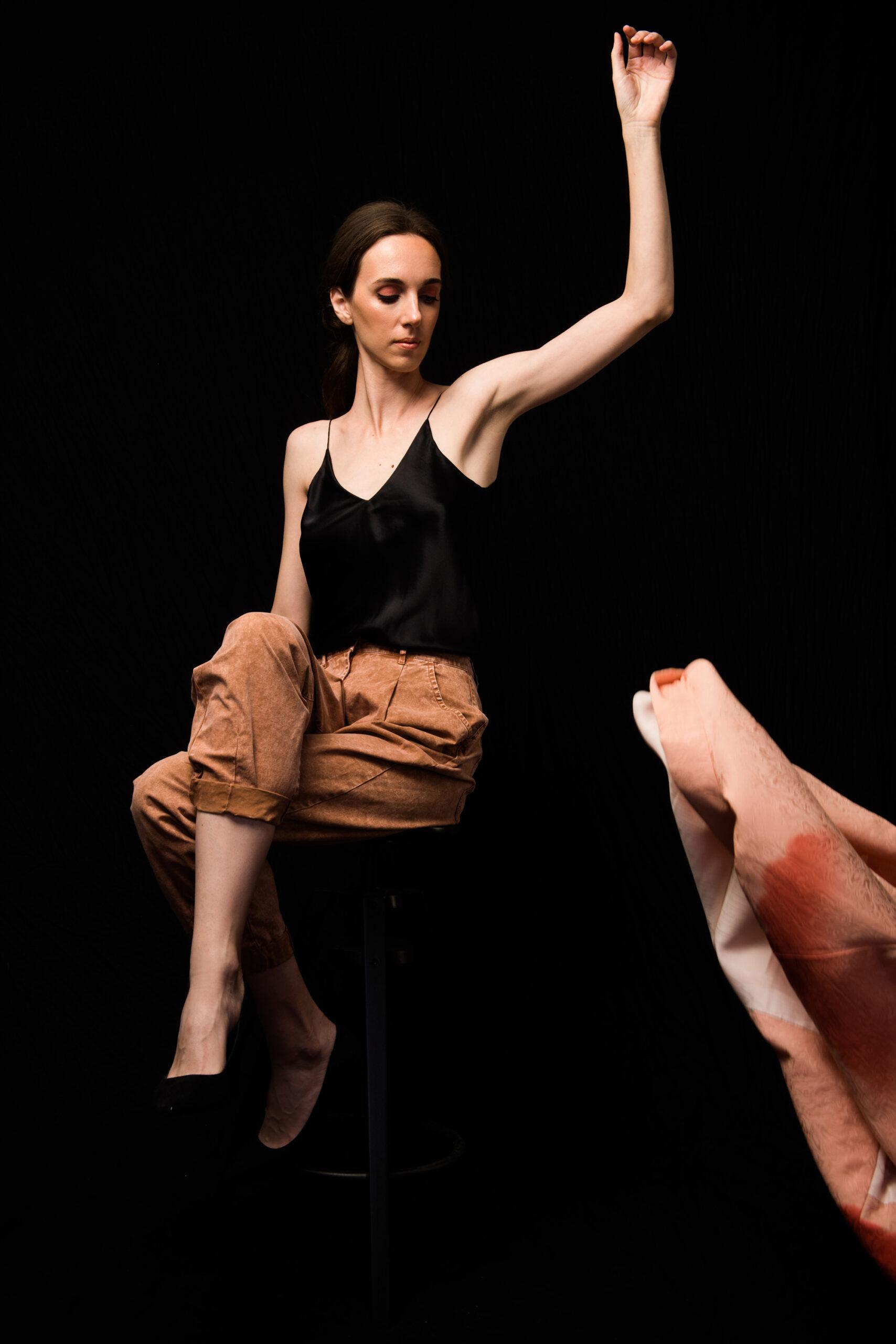 Нижнее бельё как верхняя одежда: Винтажное хаори, бельевой топ и джинсы. Garterblog.ru Все права на текст и фото защищены