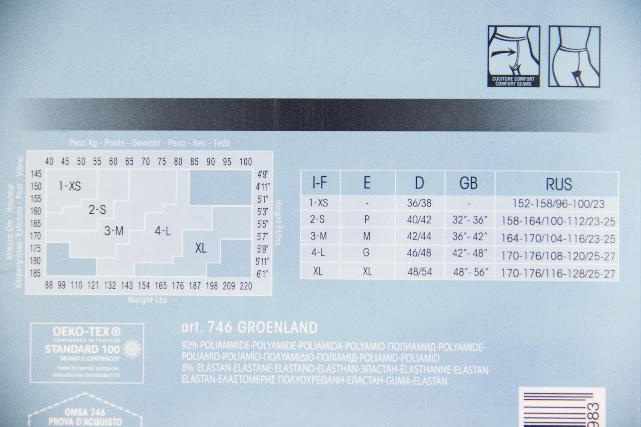 Сравнительный обзор теплых колготок. Колготки с флисом Omsa Groenland