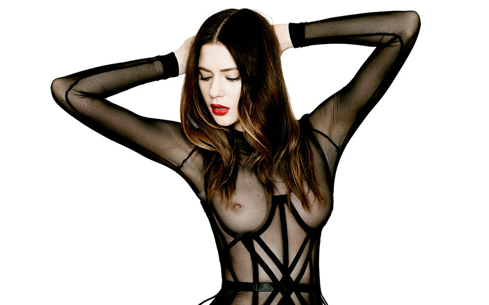 Chromat Crossed Wires Cage Dress