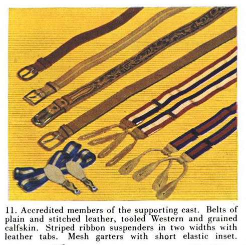 Part of the illustration in Esquire, July 1, 1934