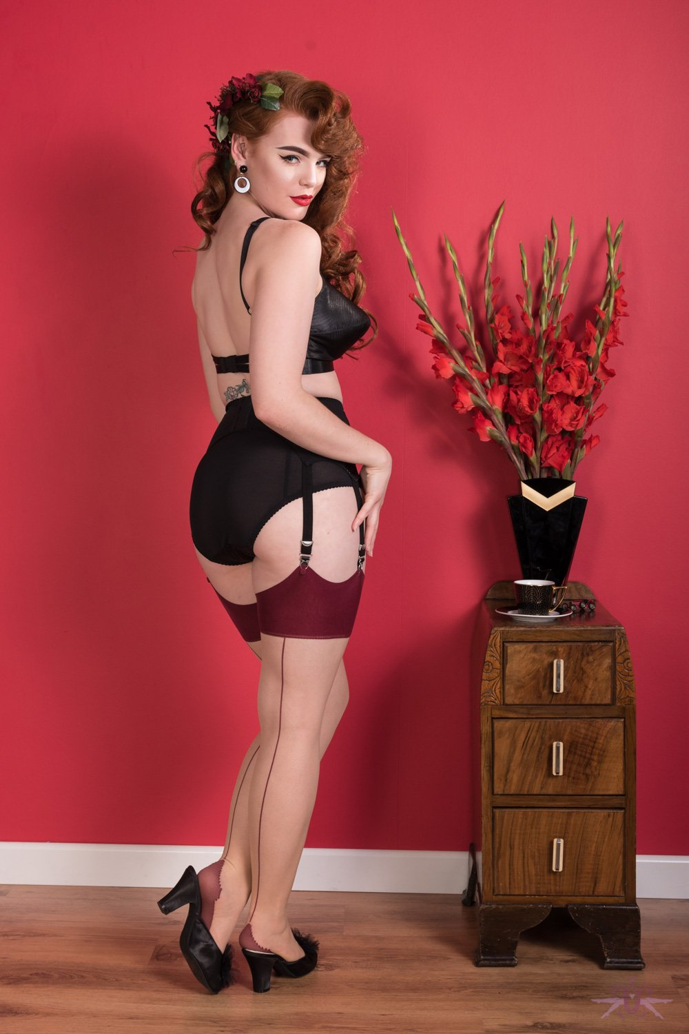 What Katie Did Seamed Glamour Stockings £9.95